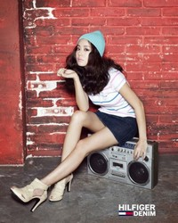 Moon Chae Won для Hilfiger Denim Korea Spring 2010 Catalogue