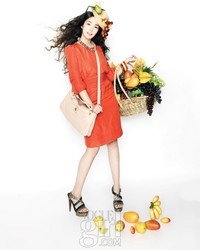 Park Min Young для Vogue Girl Korea March 2011