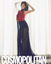 SNSD's Yuri для Cosmopolitan Korea September 2011