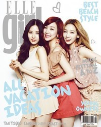 SNSD's Taetiseo для Elle Girl Korea July 2012
