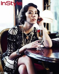 Son Dam Bi для InStyle Korea April 2012