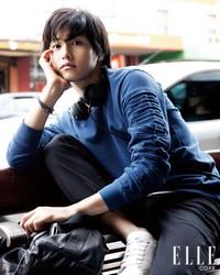 Song Joong Ki для Elle Korea January 2011