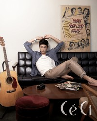 Sung Joon для CéCi Korea July 2011