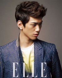 Sung Joon для Elle Korea July 2012