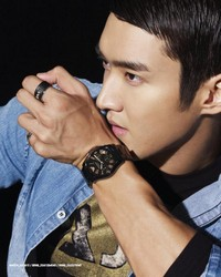 Super Junior's Choi Siwon для Esquire Korea October 2010