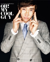 Super Junior's Siwon для High Cut Vol. 24