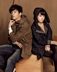 Won Bin, Moon Geun Young для Basic House Fall 2011 Catalogue