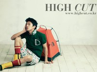 Yoo Ah In для High Cut Vol. 50