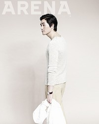 Yoo Ji Tae для Arena Homme Plus Korea May 2012